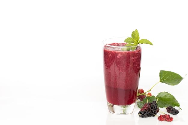 Bevanda sana fatta in casa mulberry