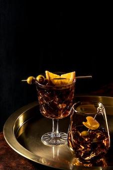 Bevande sul tavolo