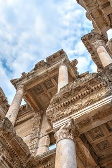 Biblioteca di celso nell'antica efeso, in turchia