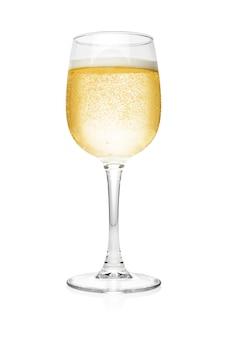 Bicchiere di champagne isolato