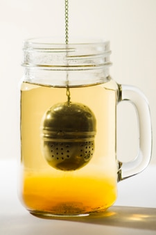 Bicchiere di tè