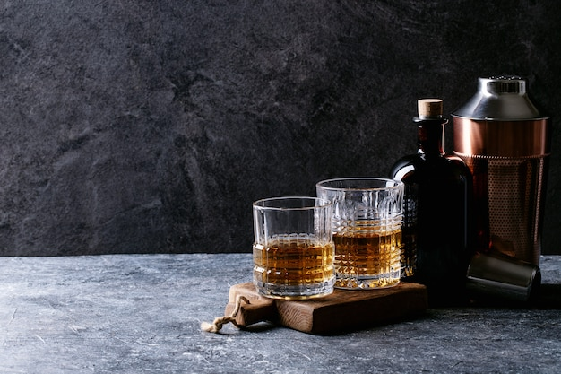 Bicchiere di whisky irlandese