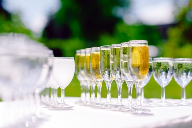 Bicchieri di champagne
