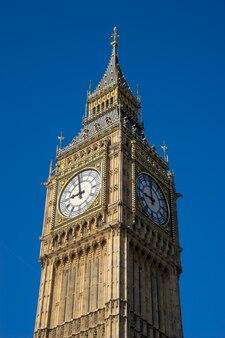 Big ben e la casa del parlamento a londra inghilterra, regno unito
