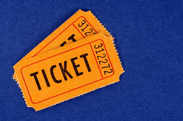 Biglietti arancioni