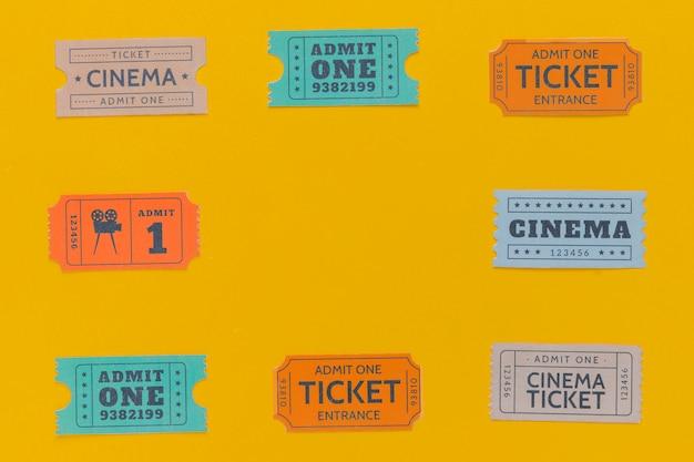 Biglietti del cinema d'epoca