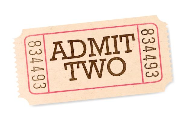 Biglietto del cinema