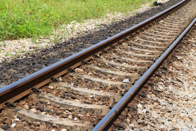 Binari del binario ferroviario