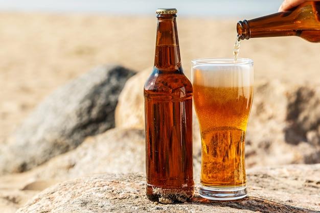 Birra in spiaggia