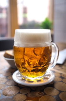 Birra pilsner ceca perfettamente filata