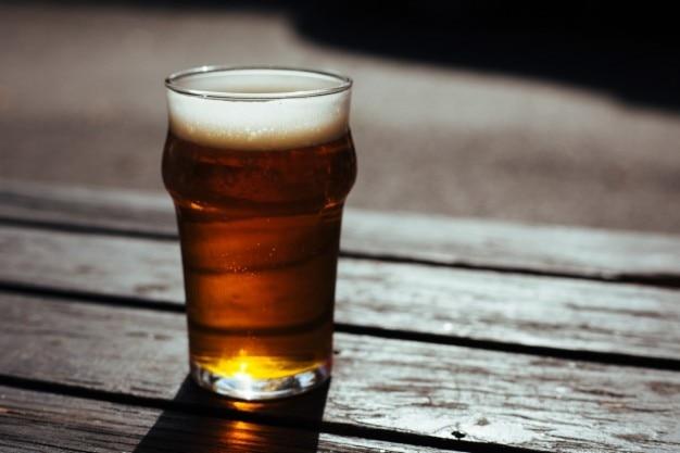 Birra spumeggiante