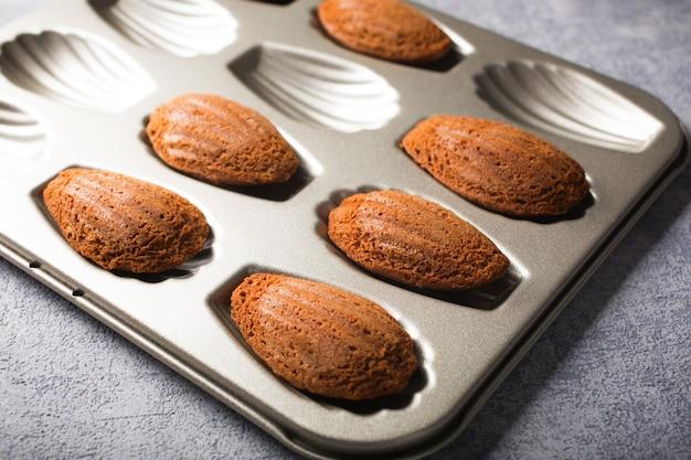 Biscotti al cioccolato madeleines