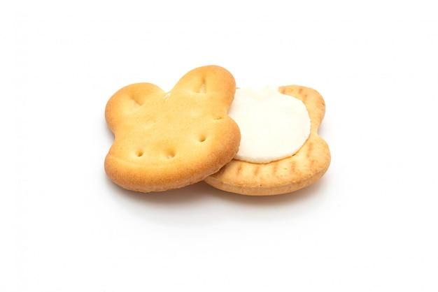 Biscotti al coniglio con panna