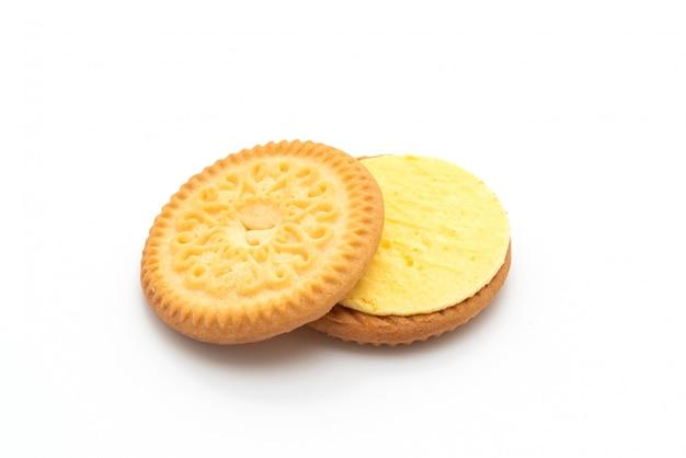 Biscotti con crema alla vaniglia e burro