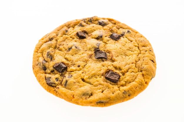 Biscotti con gocce di cioccolato e frusta