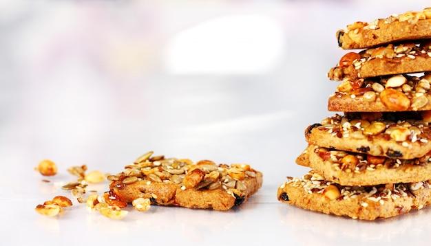 Biscotti con ingredienti diversi