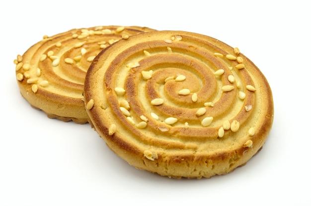 Biscotti conditi con semi di sesamo