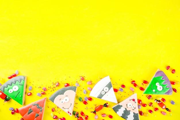 Biscotti creativi di halloween
