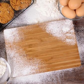 Biscotti da forno con ingredienti