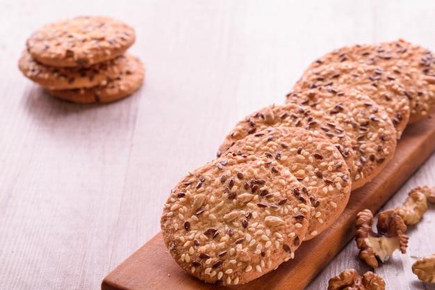 Biscotti di semi di sesamo