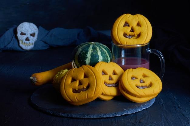 Biscotti diavolici di halloween