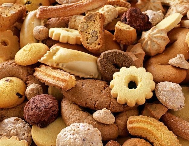 Biscotti freschi croccanti