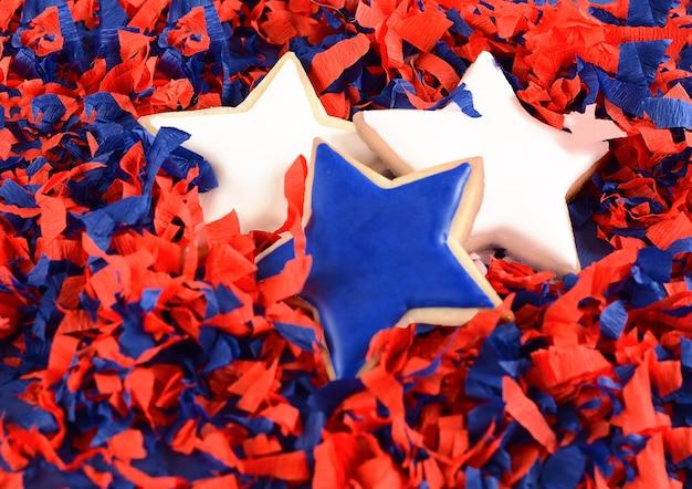 Biscotti patriottici per il 4 luglio