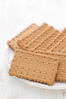 Biscotti sul piatto