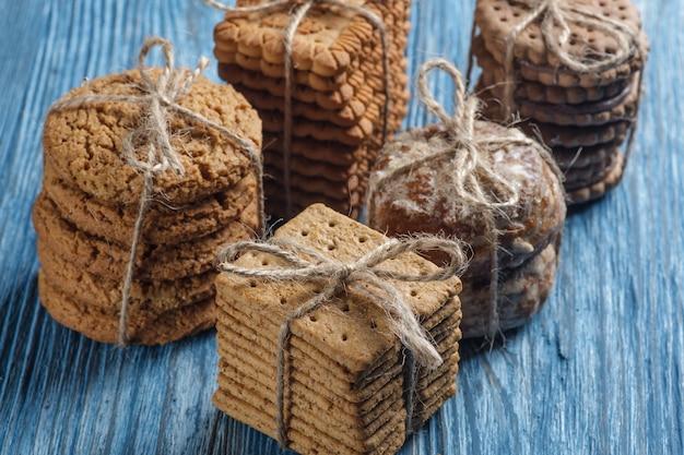 Biscotti sul tavolo