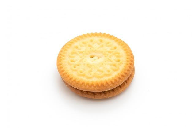 Biscotto con crema alla vaniglia e burro