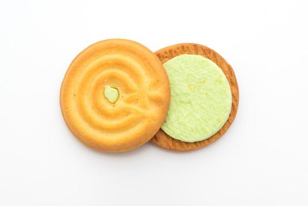 Biscotto con crema pandana
