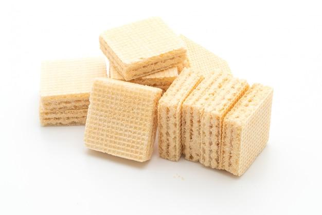 Biscotto di wafer con aroma di crema di latte
