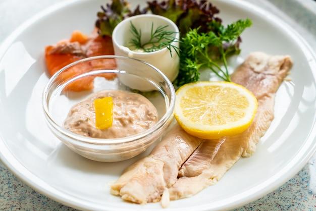 Bistecca di pesce alla trota