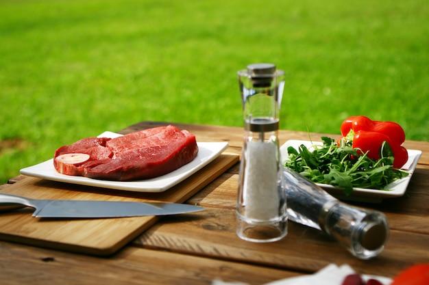 Bistecca fresca e molto gustosa