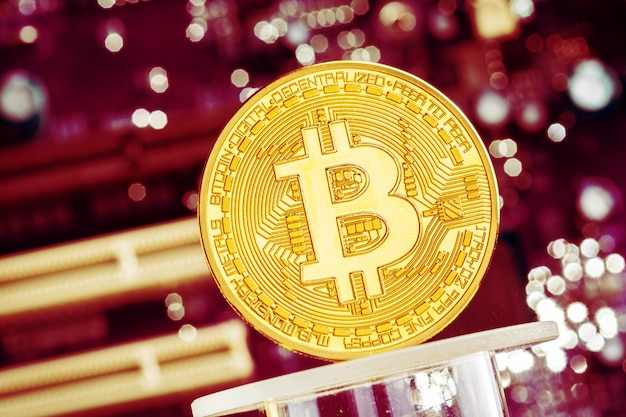 Bitcoin e una scheda grafica per computer