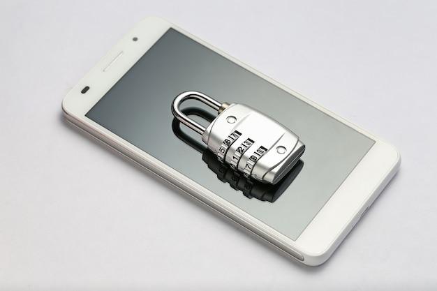 Blocco della password sullo schermo del telefono