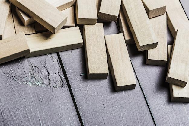 Block gioco di legno