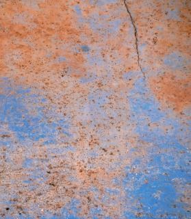 Blu metal texture di cracking