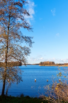 Blue lake galve