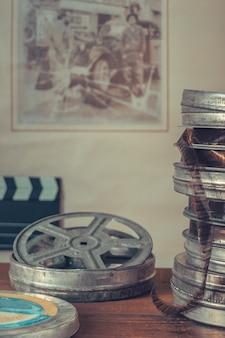 Bobine di vecchi film