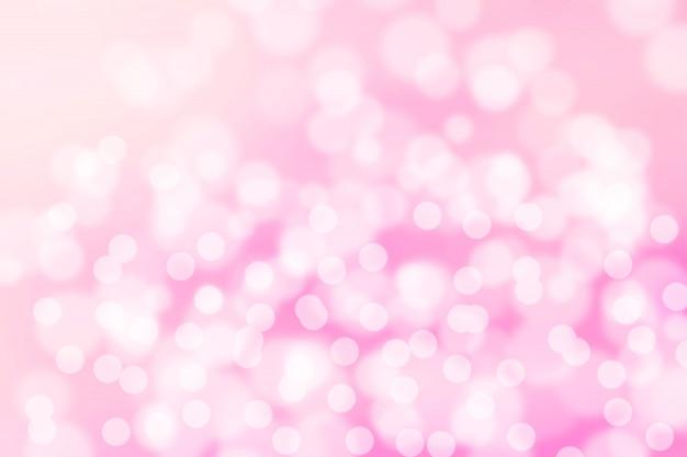 Bokeh astratto morbido colore rosa
