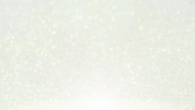 Bokeh bianco per uno sfondo.