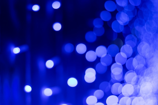 Bokeh blu astratto