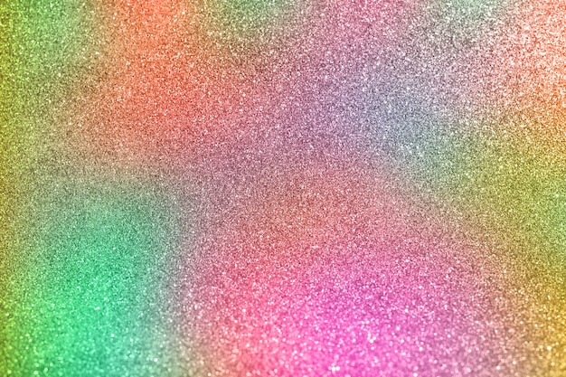 Bokeh colorato sfondo di luci scintillanti defocused. arcobaleno di luci.