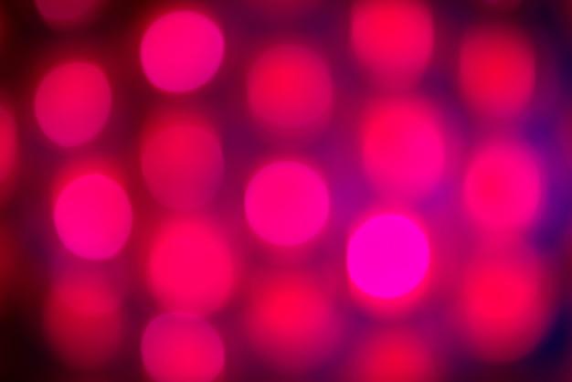 Bokeh di vacanza viola. sfondo astratto