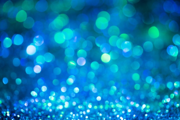 Bokeh glitter colorfull sfondo astratto sfocato per compleanno, anniversario, matrimonio