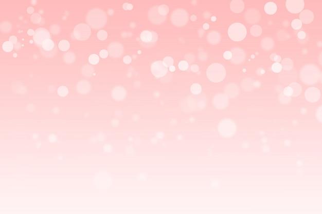 Bokeh rosa astratto
