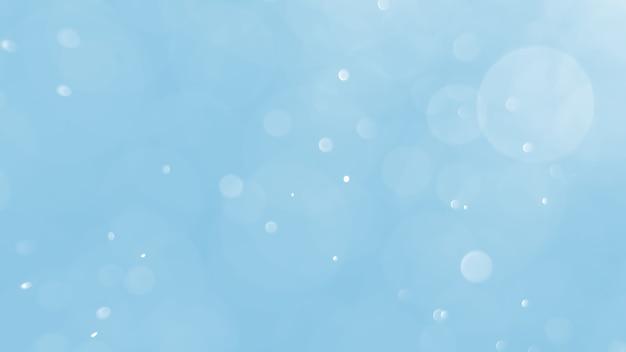 Bokeh sfondo astratto con morbido colore blu