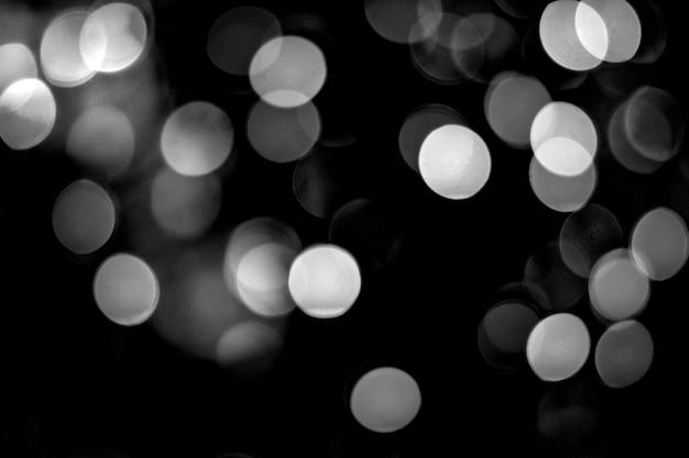 Bokeh sfondo bianco e nero