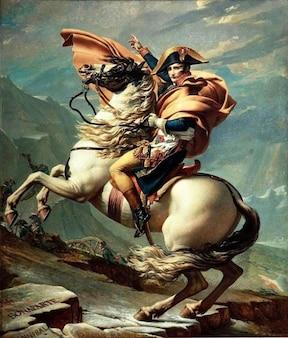Bonaparte reiter cavallo francia napoleone imperatore